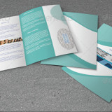 Bifold Brochure For Business - 2 Color Version