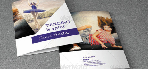 Bifold Brochure-Dance Studio