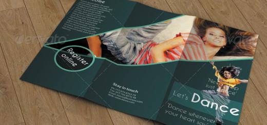 Trifold Brochure- Dance Studio