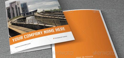 Minimal Bifold Brochure-Business