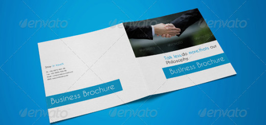 Square Bifold Business Brochure-10 Pages