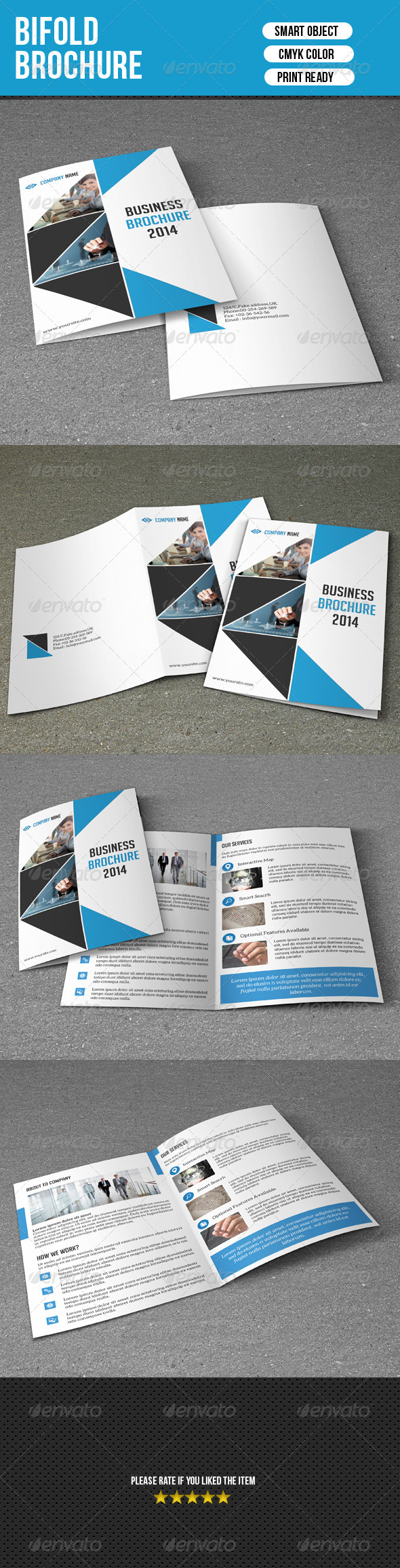 Bifold Business Brochure