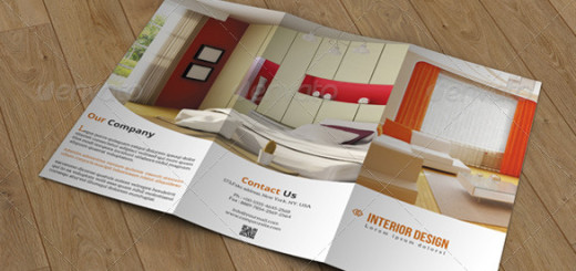Trifold Brochure Interior Design