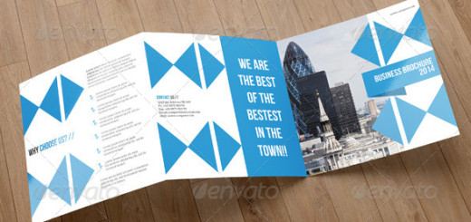 Square Trifold Business Brochure-V02