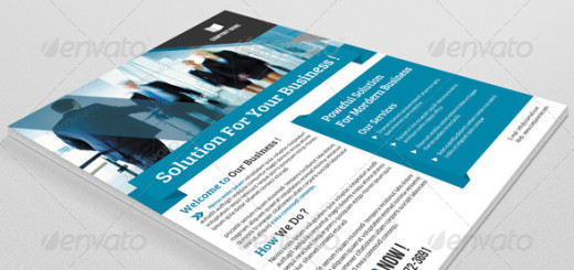 Corporate Flyer Template-V34