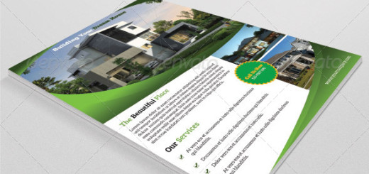 Real Estate Flyer Template-V37