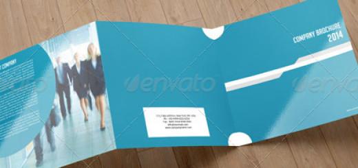 Square Trifold Brochure-V03