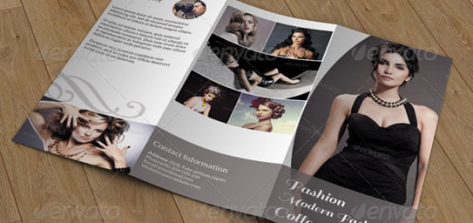 Trifold brochure for photography
