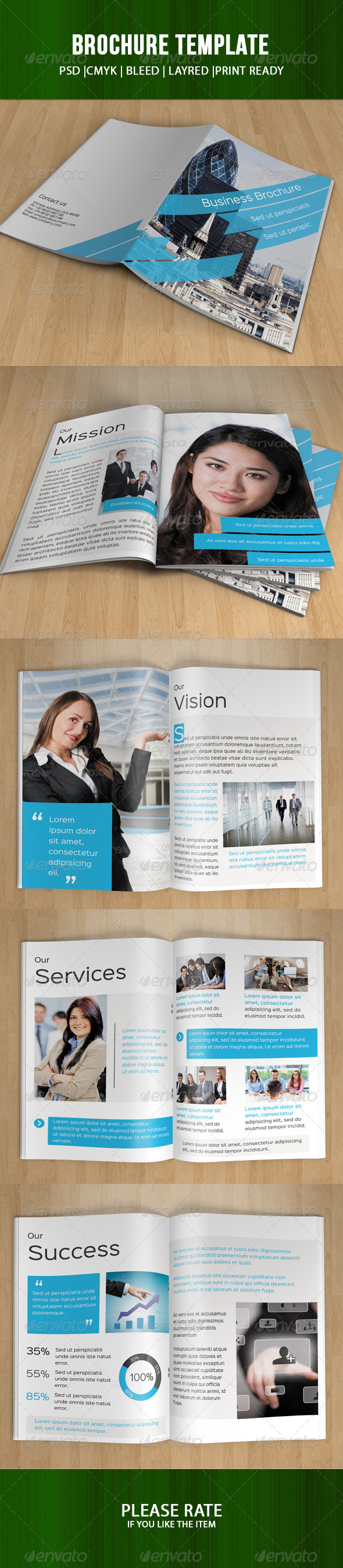 Corporate Bifold Template-V63