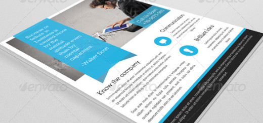 Corporate Flyer Template-V52