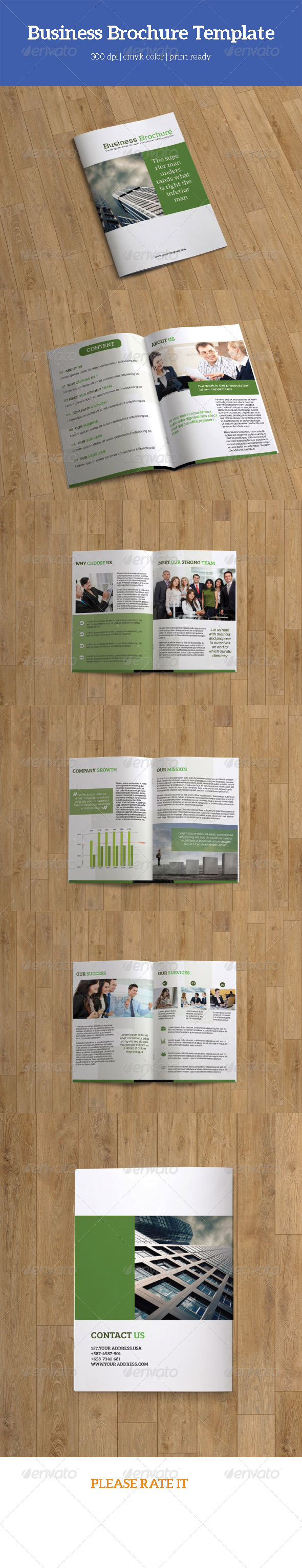 Business Brochure Template-V82