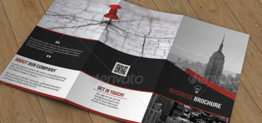 Creative Trifold Business Brochure-V31