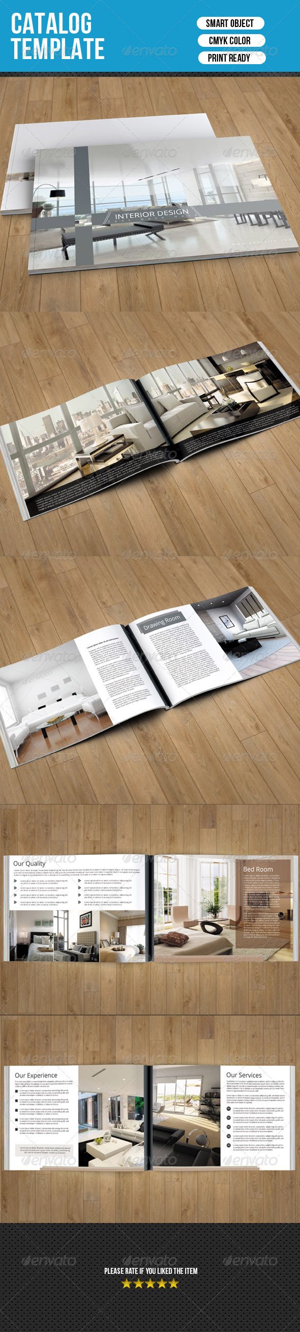 Interior Catalog Template
