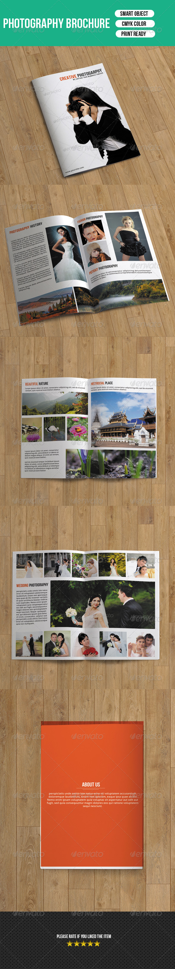 Photography Brochure-8 Pages