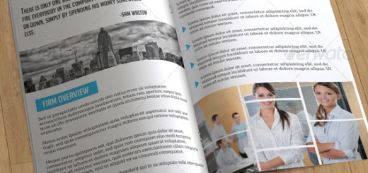 Bifold Business Brochure-8 Pages