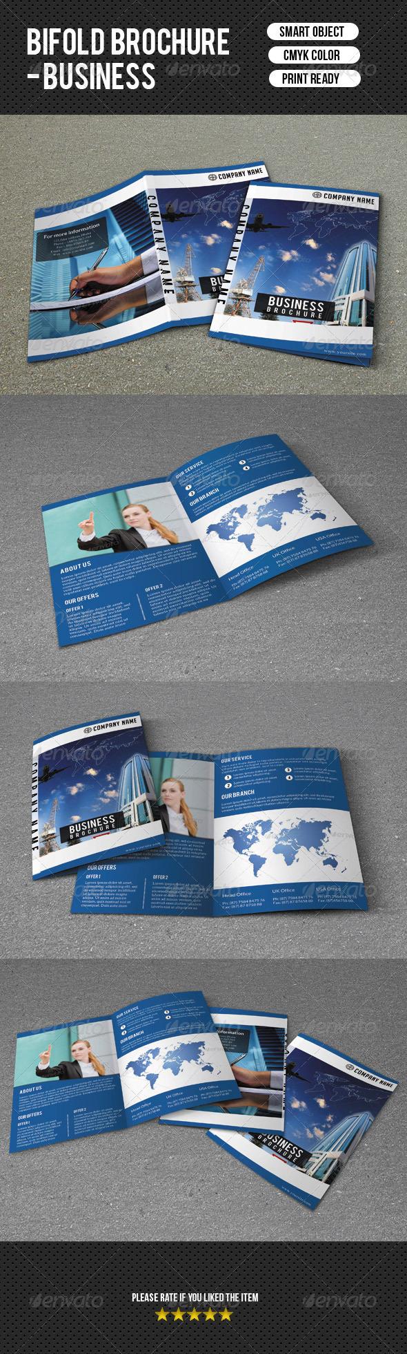 Bifold Business Brochure