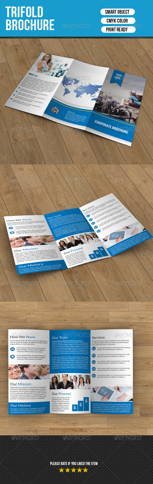 Trifold Brochure- Business