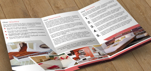 Trifold Brochure-Interior Design