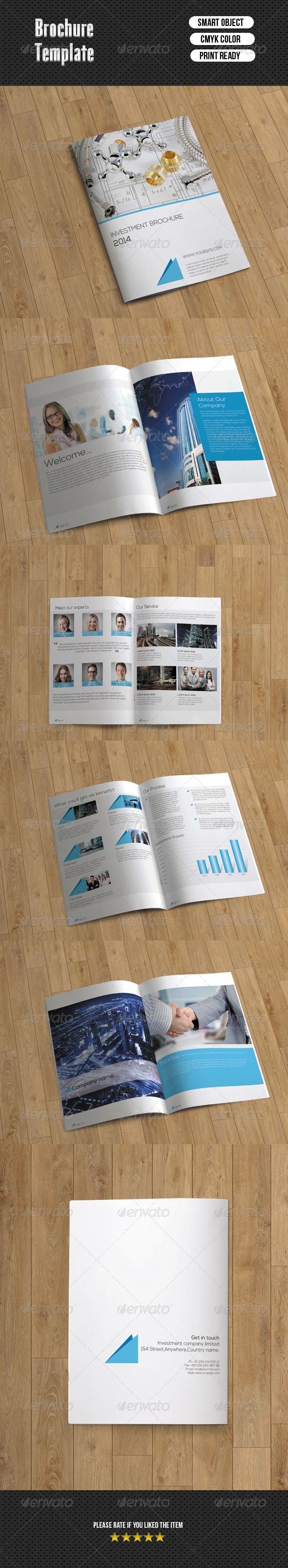 Bifold Brochure-Business (10 Pages)