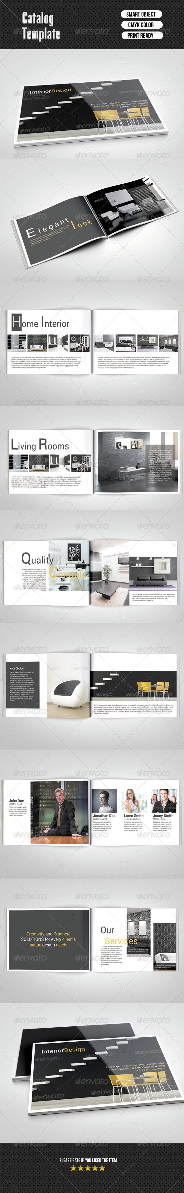 Catalog- Interior Design (16 Pages)