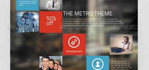 Metro Style Corporate Flyer