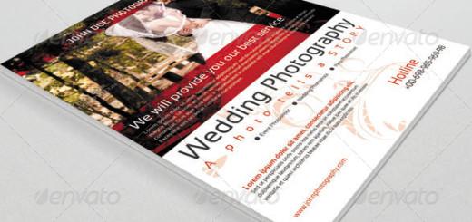 Flyer for Wedding Photographer