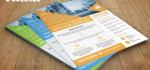 4-Business-Flyer-Bundle