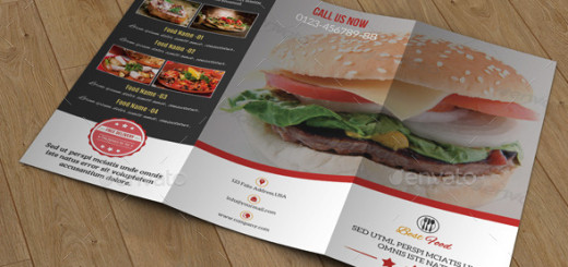 Food-Menu-Trifold-Brochure