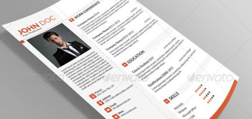 Minimal-Resume-Template