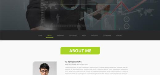 1-Page-PSD-Resume