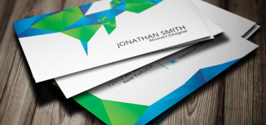 Abstract-Visiting-Card