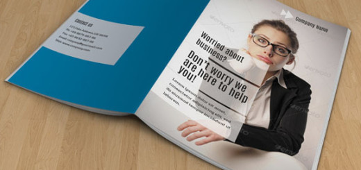 Brochure-template-business