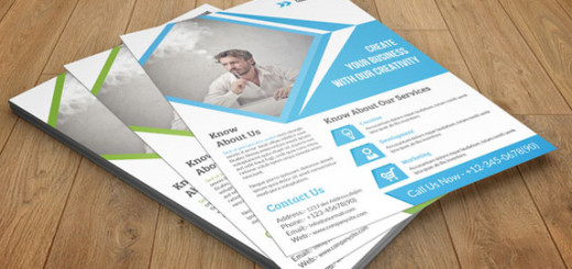 Corporate-Flyer-template -2-color