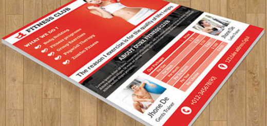 Flyer-for-fitness-club