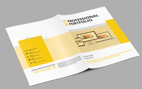 Portfolio Brochure Template Sistec