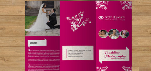 Trifold-Brochure-for-Wedding