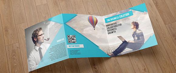 trifold business brochure sistec