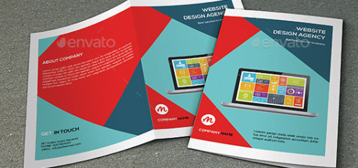 Bifold Brochure for Web Designer