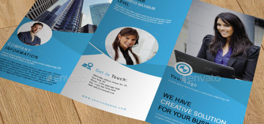 Corporate Trifold Brochure-V243