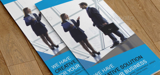 Corporate Trifold Brochure-V254