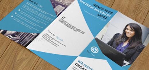 Corporate Trifold Brochure-V257