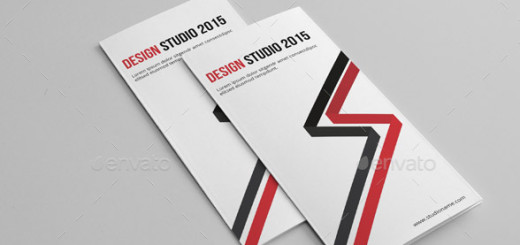Design Studio Trifold Brochure-V244