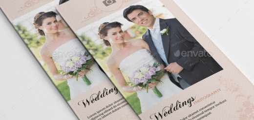 Trifold Brochure for Wedding Photography-V245