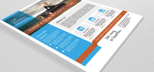 Corporate Flyer  3 color