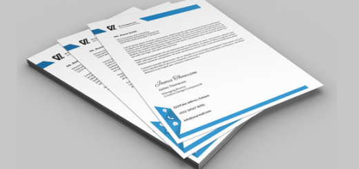 Corporate Letterhead 7 in 1-V04