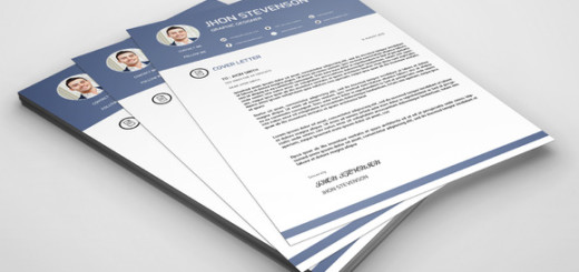 Resume with Cover Letter-V08
