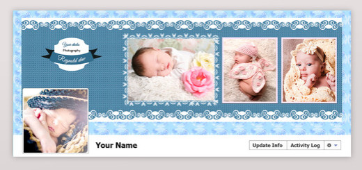 New born facebook timeline cover