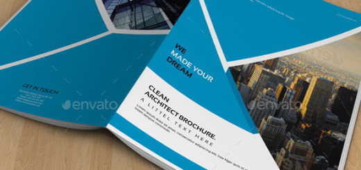 Architect Brochure Template-V306