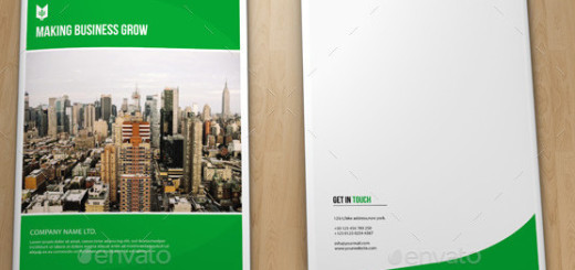 Business Brochure Template-V301