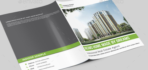 Real Estate Brochure Template-V304